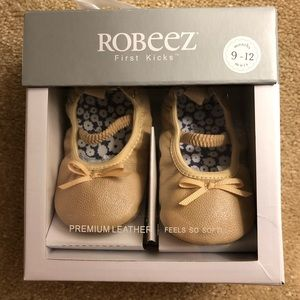Robeez Ballet Flat Baby Shoes